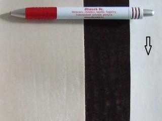 Fehér, magában mintás textilbőr (5593)