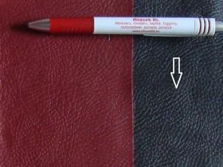 Fekete, egyszínű textilbőr (5634)