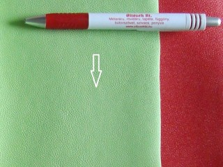 Zöld, egyszínű textilbőr (5635)
