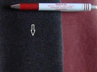 Fekete, egyszínű textilbőr (5637)