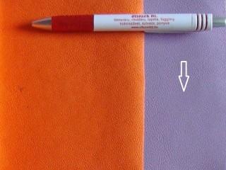 Lila, egyszínű textilbőr (5642)