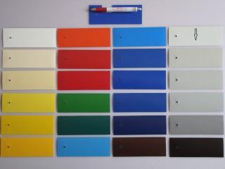 2 oldalon lakkozott PVC ponyva, világos szürke (5663)