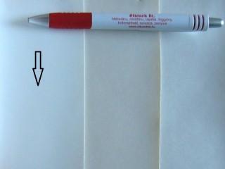 Fehér, egyszínű textilbőr (5669)