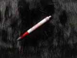 Hosszúszőrű fekete műszőrme (5866)