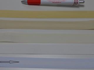 Pamut ferdepánt, 2 cm széles, fehér (5900)