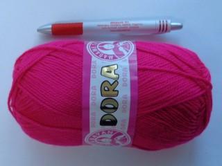 Dóra kötőfonal, pink (2534-45)
