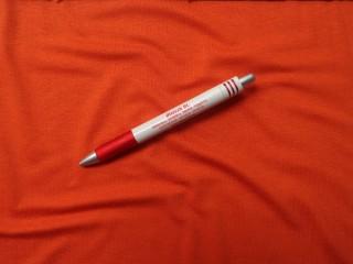 Rugalmas viszkóz jersey, sötét narancs, 180 cm széles (6034)