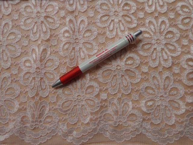Rugalmas csipke, rózsaszín (6036)