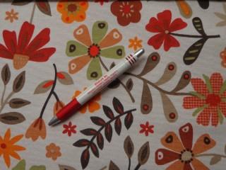 Loneta, őszi virágos kerti bútor vászon (6046)