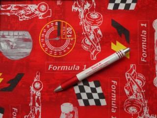 Loneta, Forma 1, kerti bútor vászon, piros (7203)