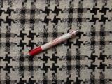 Kockás szövet, fekete-fehér-szürke  (7205)