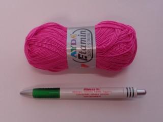 Ayda Etamin horgolófonal, pink (7305)