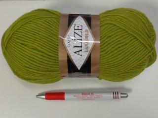 Alize Lanagold kötőfonal, zöld (7386-193)