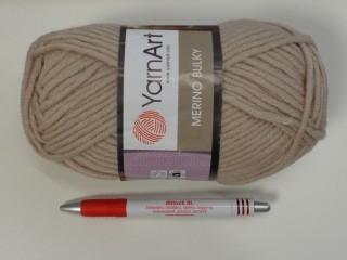 Yarn Art - Merino Bulky, drapp (7394-033)