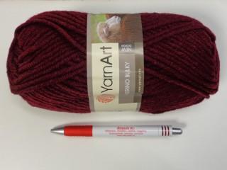 Yarn Art - Merino Bulky, bordó (7395-577)