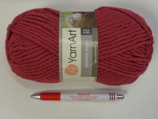 Yarn Art - Merino Bulky, málna (7397-570)