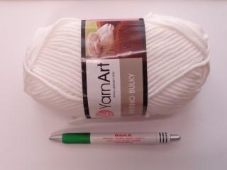 Yarn Art - Merino Bulky, fehér (7512)