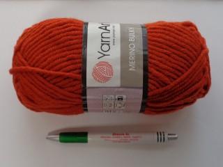 Yarn Art - Merino Bulky, terrakotta (7513-3027)