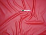 Műbőr, piros - ruházati célra (7555)