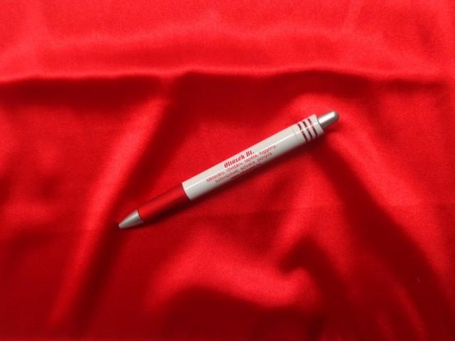 Sztreccs blúz szatén, piros (7563)