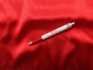 Sztreccs kéttónusú szatén, piros (7588)