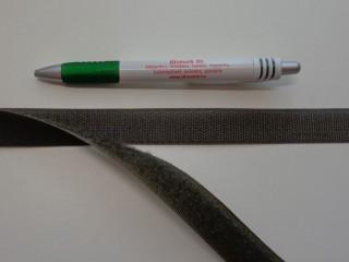 Varrható tépőzár párban, 2 cm széles, keki (7677)