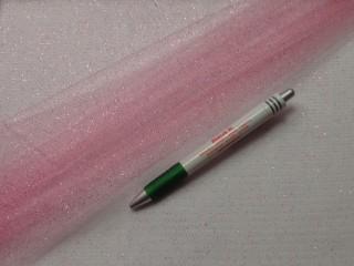 Tüll, csillámos, rózsaszín (7770)