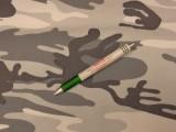 Hóterepmintás pamut-poliészter vászon (7809)