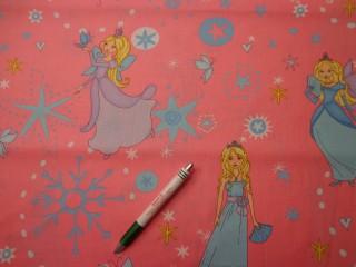 Gyerekmintás vászon, hercegnős-tündéres (7989)