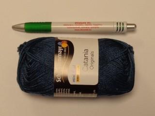 Catania fonal, zafír kék (8021-416)