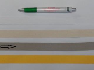 2 cm széles, köpper szalag, drapp (8138)