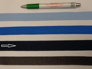 2 cm széles, köpper szalag, sötétkék (8147)