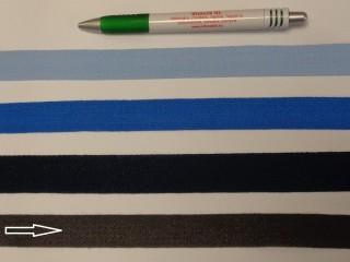 2 cm széles, köpper szalag, sötét szürke (8148)