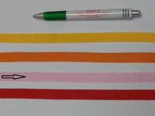 1,3 cm széles danubia szalag, rózsaszín (8158)