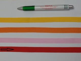 1,3 cm széles danubia szalag, piros (8159)