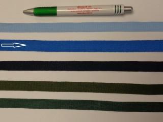 1,3 cm széles danubia szalag, királykék (8165)