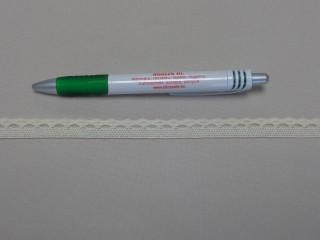 Pamut csipke, ekrü, 1,2 cm széles (8244)