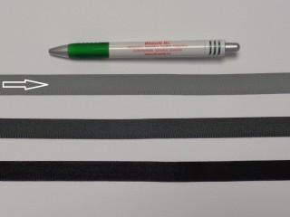 Koptató szalag, 1,5 cm széles, világos szürke (8277)