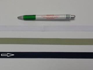 Koptató szalag, 1,5 cm széles, sötét keki (8280)