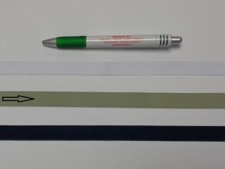 Koptató szalag, 1,5 cm széles, világos keki (8281)