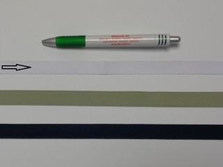 Koptató szalag, 1,5 cm széles, fehér (8282)