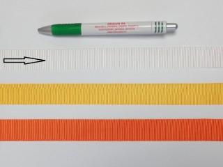 Ripsz szalag, 2 cm széles, fehér (8286)