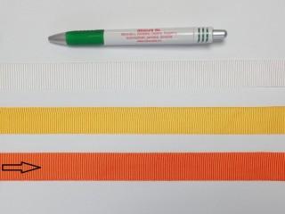 Ripsz szalag, 2 cm széles, narancs (8288)
