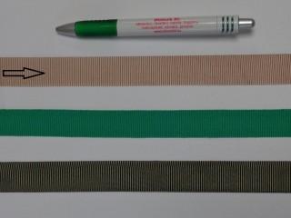 Ripsz szalag, 2 cm széles, drapp (8289)