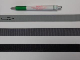Ripsz szalag, 2 cm széles, világos szürke (8295)