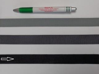 Ripsz szalag, 2 cm széles, fekete (8297)