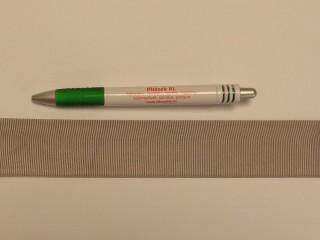 Ripsz szalag, 4 cm széles, drapp (8300)