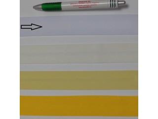 Pamut ferdepánt, 3 cm széles, fehér (8335)