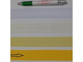 Pamut ferdepánt, 3 cm széles, napsárga (8338)