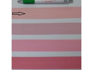 Pamut ferdepánt, 3 cm széles, világos rózsaszín (8343)